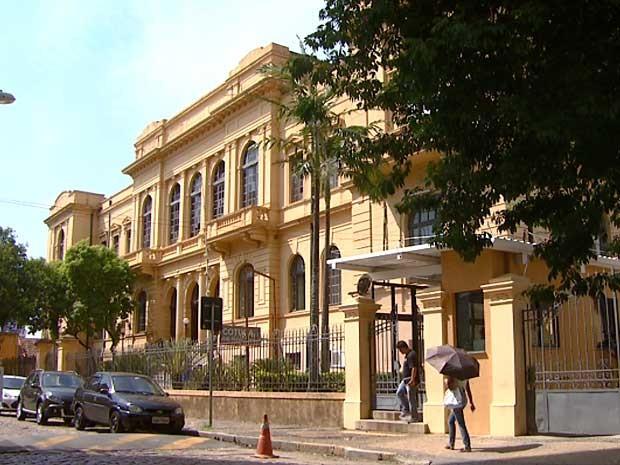 Colégio Técnico de Campinas (Cotuca), instituição gerida pela Universidade Estadual de Campinas (Unicamp) (Foto: Victor Freitas/EPTV)