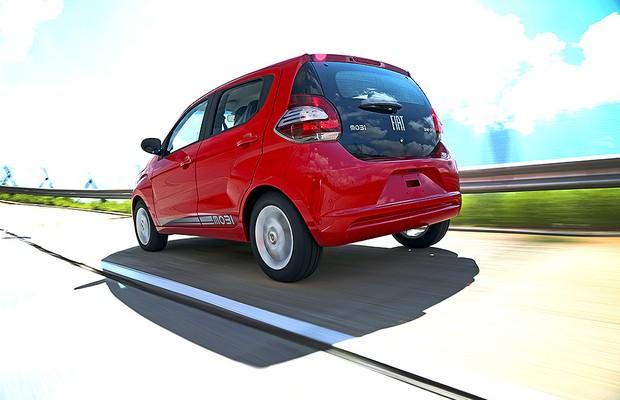 Fiat Mobi (Foto: Renato Durães/Autoesporte)