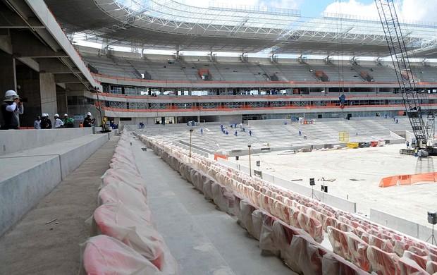 arena pernambuco janeiro 2013 (Foto: Aldo Carneiro / Pernambuco Press)