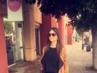 Thaila Ayala se prepara para viver deficiente visual em filme