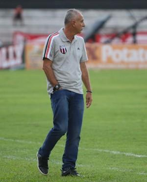 Márcio Fernandes, técnico botafogo-sp (Foto: Rogério Moroti / Agência Botafogo)