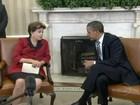 Dilma se encontra com Obama e critica política monetária dos países ricos