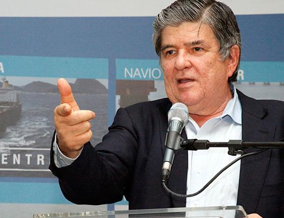 Sérgio Machado, presidente da Transpetro - topo (Foto: Renata Mello/AG Petrobras )