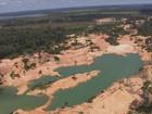 Ibama descobre garimpo 'gigante' (Rede Amazônica/ Reprodução)