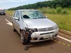 Ciclista morre após ser atingido por carro na BR-060 em Rio Verde, GO