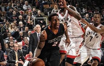 Bledsoe anota 40 pontos, e Phoenix Suns vence os Raptors de Lucas Bebê