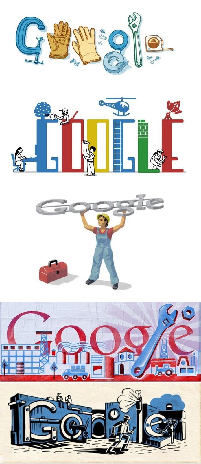 Outros doodles de 1º de Maio (Foto: Felipe Alencar/TechTudo) (Foto: Outros doodles de 1º de Maio (Foto: Felipe Alencar/TechTudo))