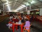 Quermesse da Festa do Divino, em Mogi, tem barraca nova