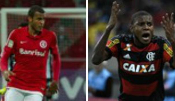 Internaciona x Flamengo (Foto: Montagem/GE)