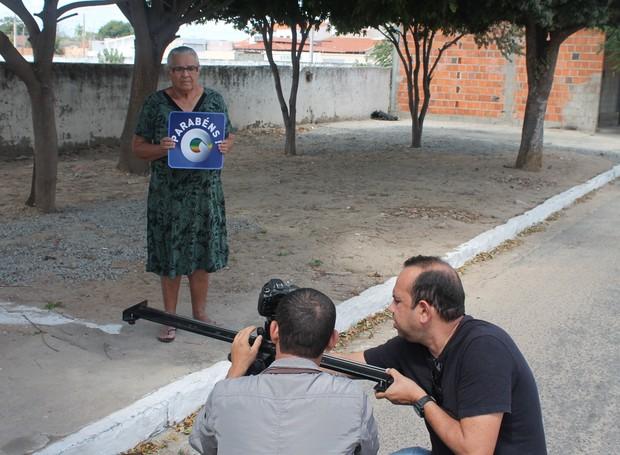 Gente que é a cara do nosso Sertão gravou o projeto (Foto: Institucional/TV Grande Rio)