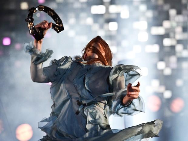 Florence + The Machine se apresenta no palco Skol do Lollapalooza 2016 (Foto: Caio Kenji/G1)
