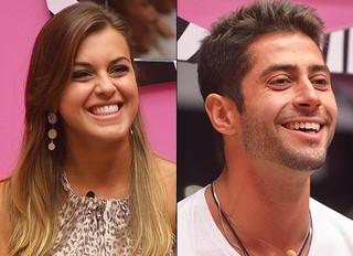 Angela e Marcelo, BBB 14 (Foto: Frederico Rozario/TV Globo)