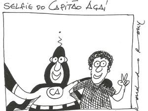 Capitão Açaí é personagem carro-chefe de Ronaldo Rony (Foto: Divulgação/Espaço Caos)