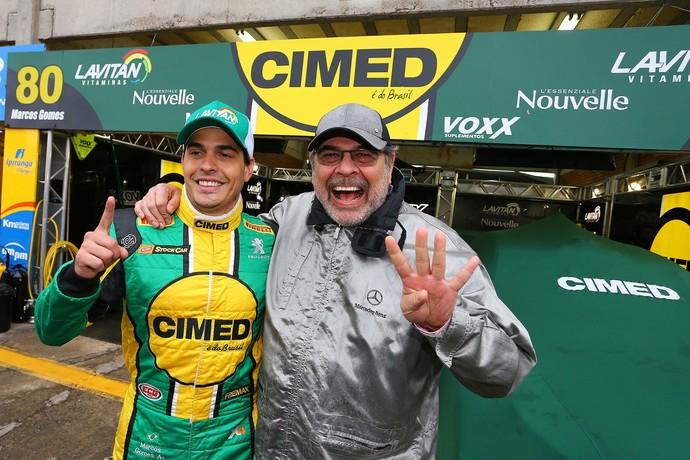 Filho do tetracampeão Paulo Gomes, Marcos Gomes conquistou primeiro título (Foto: Carsten Horst)