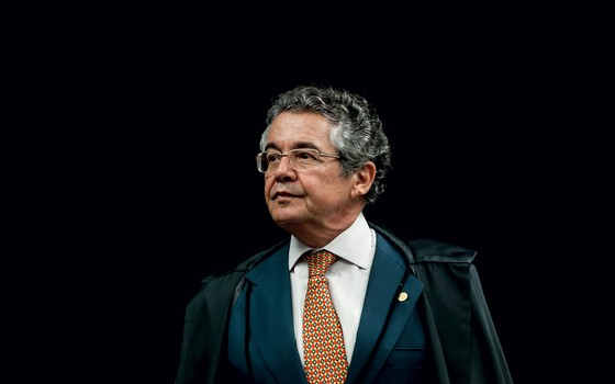 Marco Aurélio Mello ministro do STF (Foto: Dorivan Marinho/SCO/STF )
