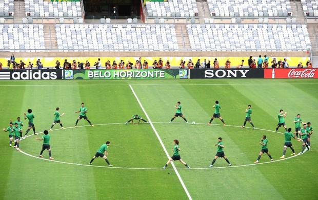 Treino Seleção Brasileira Belo Horizonte (Foto: Agência AFP)