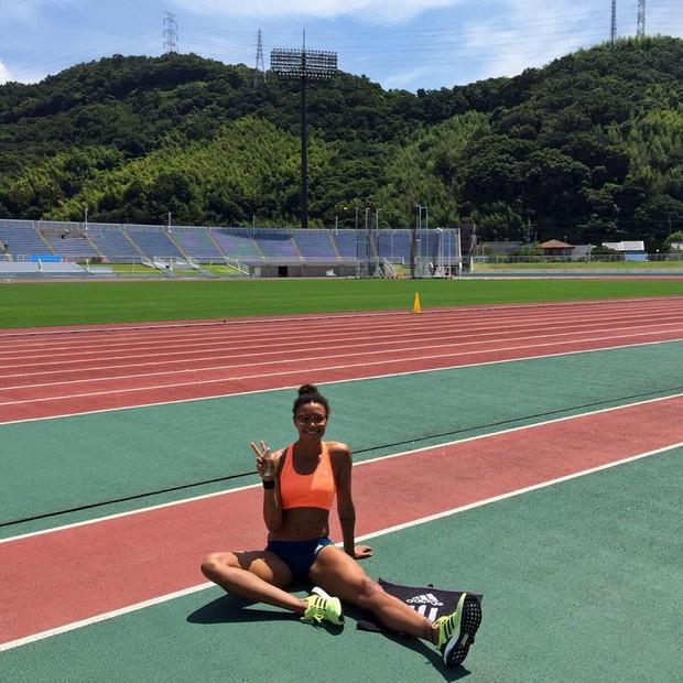 A velocista olímpica Morgan Mitchell, que competiu na Rio 2016 pela Austrália (Foto: Instagram/Reprodução)