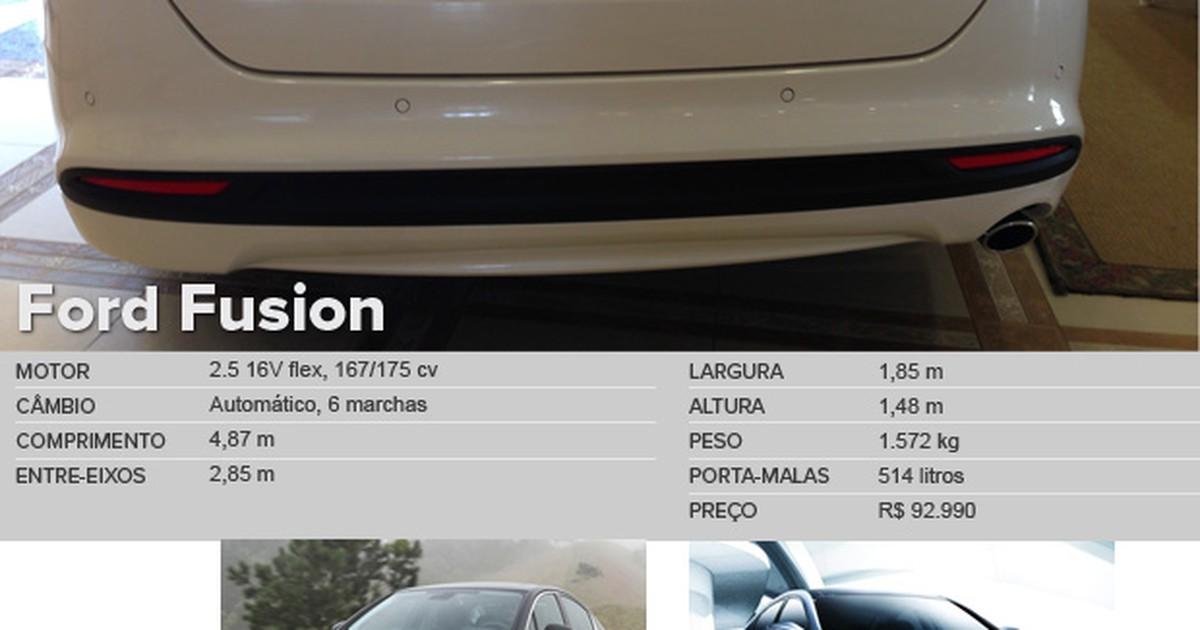 Auto Esporte Primeiras Impress 245 Es Ford Fusion 2 5 Flex