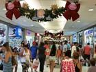 Shoppings funcionam em horário especial para o Natal no Rio