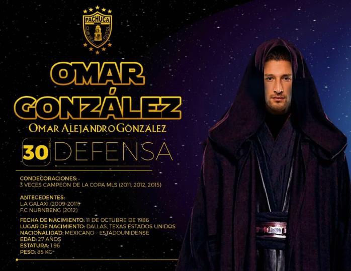 Omar González Pachuca Star Wars