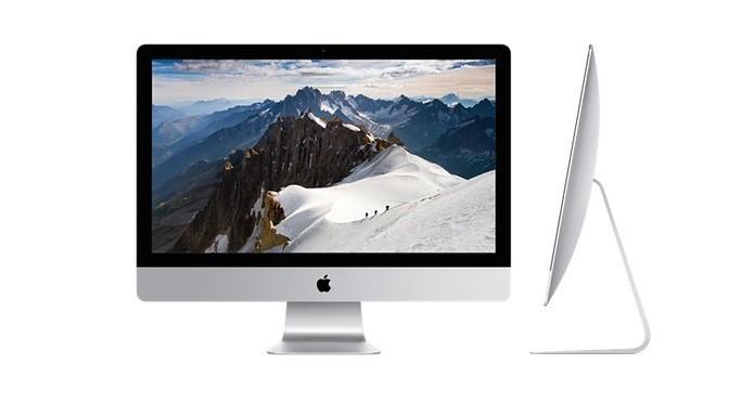 Apple aposta em tela com resolução 5K no iMac mais recente (Foto: Divulgação/Apple)
