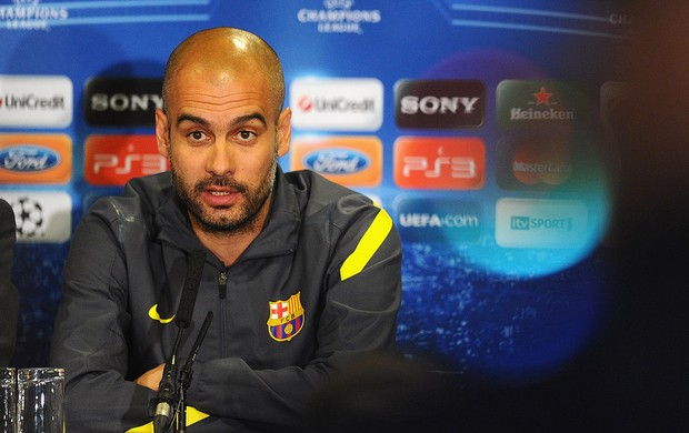 Guardiola coletiva (Foto: Getty Images)
