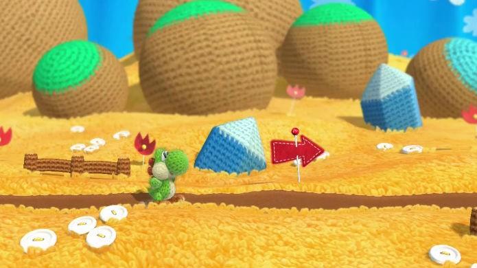Yoshis Woolly World transborda fofura (Foto: Divulgação/Nintendo)