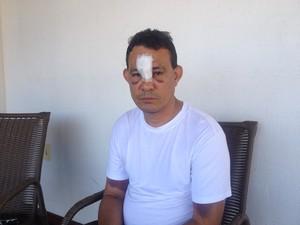 Haroldo Santos amapá  (Foto: Abinoan Santiago/G1)