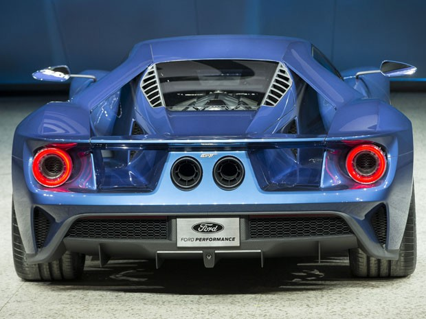 Novo Ford GT (Foto: AFP PHOTO/GEOFF ROBINS)