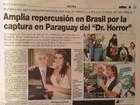 Jornais paraguaios chamam Abdelmassih de 'Dr. Horror'