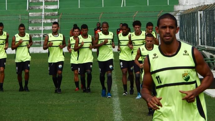 Coruripe treino (Foto: Divulgação/Coruripe)