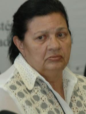 Rosilene Gomes, presidente da FPF (Foto: Yordan Cavalcanti / GloboEsporte.com/pb)