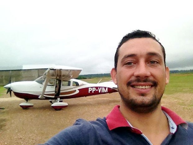 Piloto Paulo Cézar Bertocini está desaparecido desde o dia 1º. (Foto: Arquivo Pessoal)
