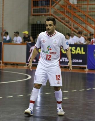 Falcão, ala do Sorocaba Futsal (Foto: Felipe André da Silva / Futsal Brasil Kirin)