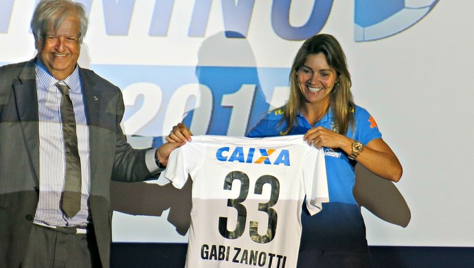 Gabi Zanotti, draft Brasileirão feminino (Foto: Cintia Barlem)