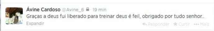 Ávine Twitter Bahia (Foto: Reprodução / Twitter)