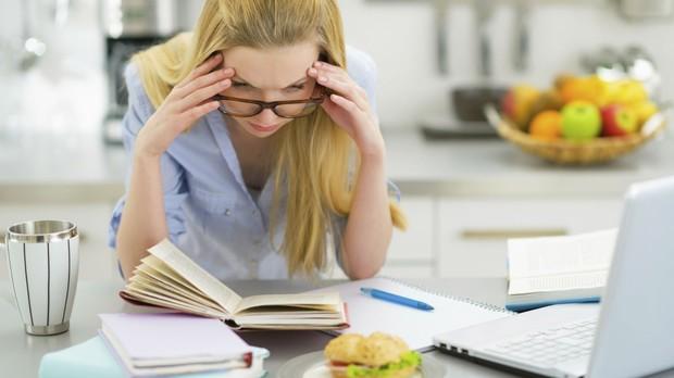 Estresse, multitarefas, hbitos que envelhecem (Foto: Getty Images)