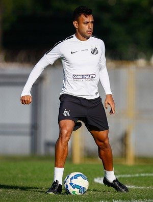 Zagueiro Werley tem sido utilizado pelo técnico Dorival Júnior (Foto: Ricardo Saibun/Santos FC)