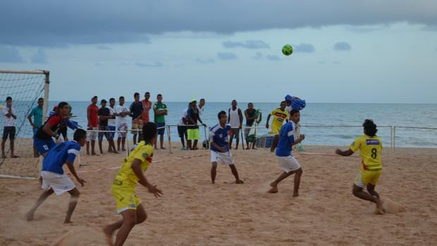 Santa Cruz x Gama, final do Paraibano de futebol de areia (Foto: Expedito Madruga)