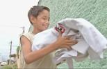 O João Vitor recebe doação do seu quimono e é só sorrisos nos treinos