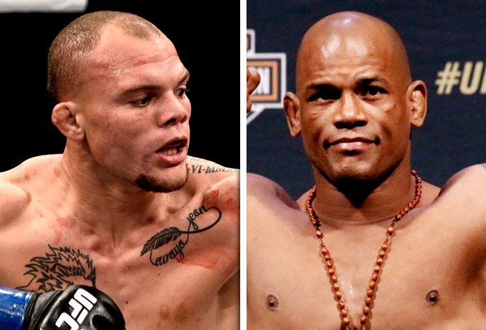 Hector Lombard x Anthony Smith  (Foto: Combate.com)