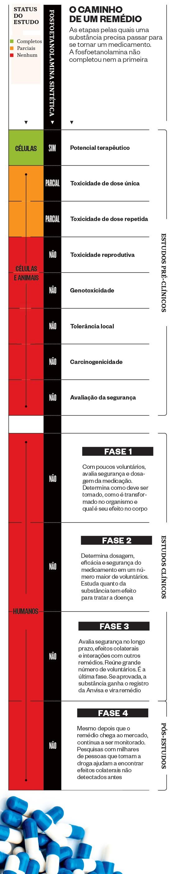 O caminho de um remédio (Foto: Revista ÉPOCA/Reprodução)