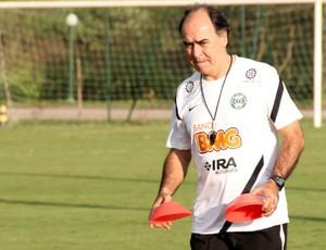 Marcelo Oliveira, técnico do Coritiba (Foto: Marco Aurelio Garcia / RPCTV)
