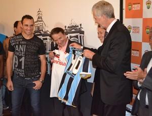 Kiko é nomeado embaixador da Copa de 2014 (Foto: Thiago Quintella/GLOBOESPORTE.COM)