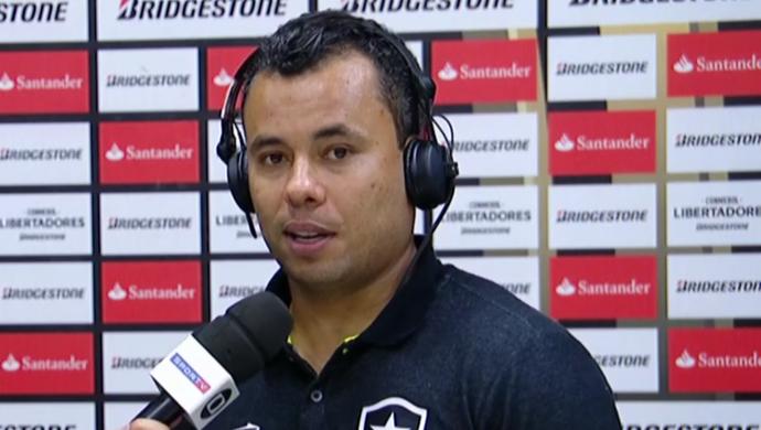 Jair Ventura, técnico do Botafogo (Foto: Reprodução SporTV)
