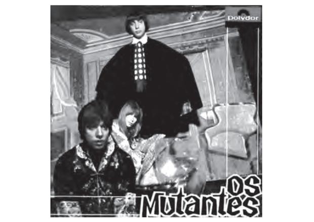 Capa do LP Os Mutantes, 1968. Disponível em: http://mutantes.com. Acesso em: 28 fev. 2012. (Foto: Reprodução/Enem)