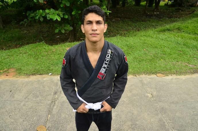Arcangelo Oliveira foi campeão da Seletiva Nacional Pro de Jiu Jitsu. (Foto: Divulgação/Sejel)