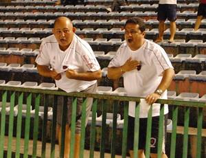 Torcedores do Botafogo-PB no Almeidão para Auto Esporte 1 x 1 Sousa (Foto: Larissa Keren)