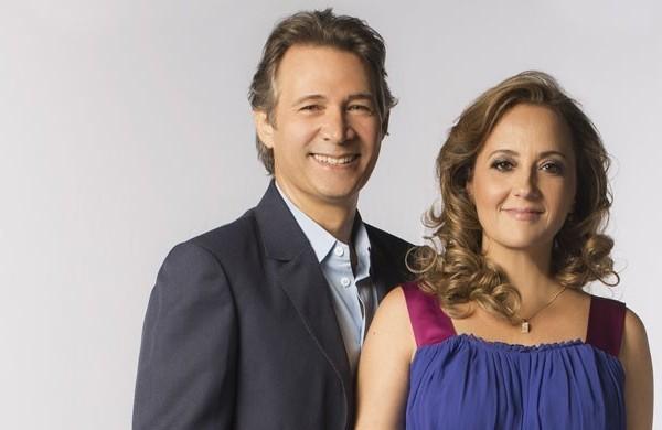 Nelson Freitas e Claudia Netto  (Foto: Reprodução / TV Diário)