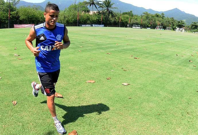 Everton treino do Flamengo (Foto: Alexandre Vidal / Fla Imagem)